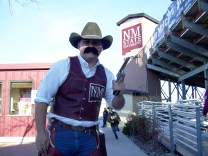 Pistol Pete at NMSU Softball Complex